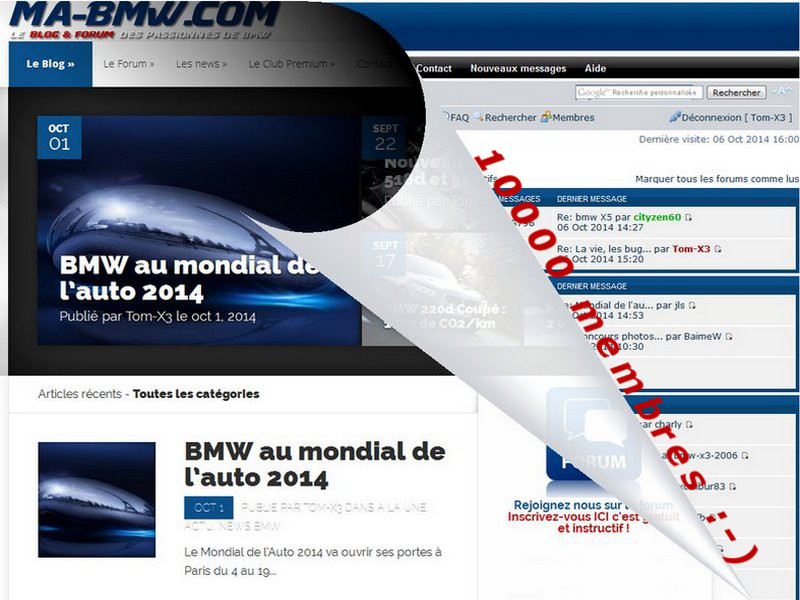 10000 membres BMW