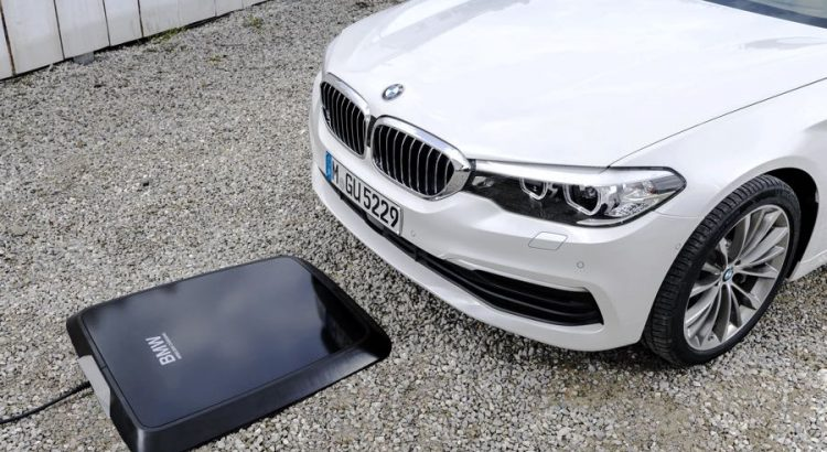 BMW 530e Wireless Charging Induction sans Fil