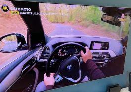BMW IX3 electrique