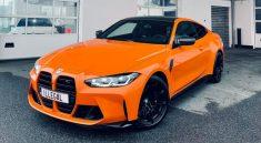 BMW M4 Competition 2021 Fire Orange