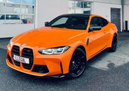 BMW M4 Competition 2021 Fire Orange