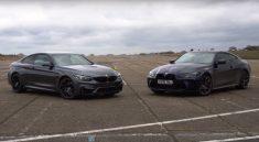 BMW M4 F82 vs G92
