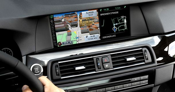 BMW Connected Drive et iDrive Touch