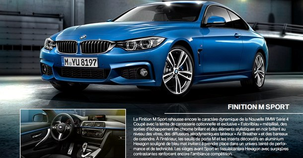 Catalogue BMW Série 4 2013