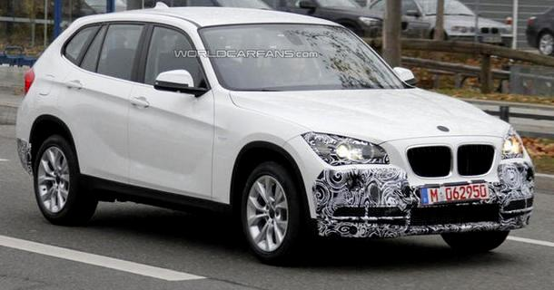 BMW X1 restylé en 2012 ?