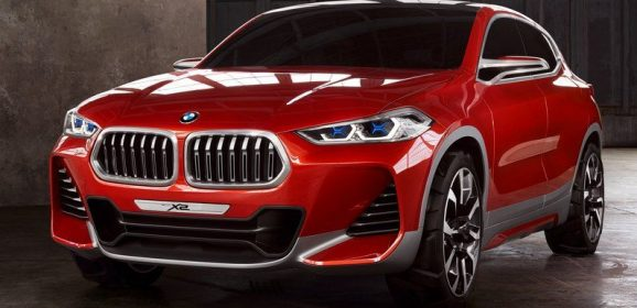BMW Concept X2 au Mondial de l'auto