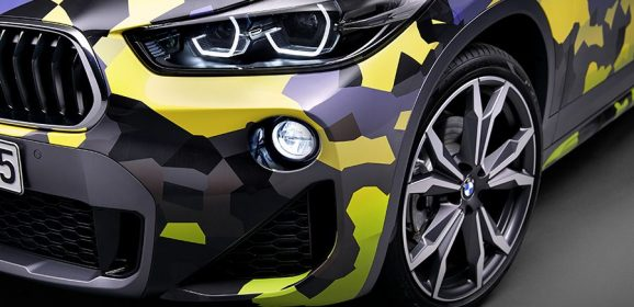 Covering exclusif d'origine pour le BMW X2