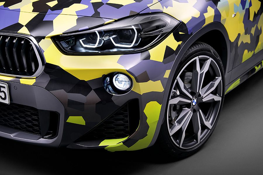 covering camouflage bmw