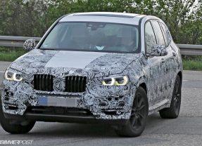 Nouveau BMW X3 G01 2017