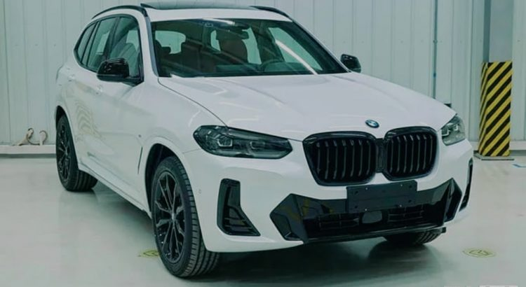 BMW X3 G01 restyle facelift 2021