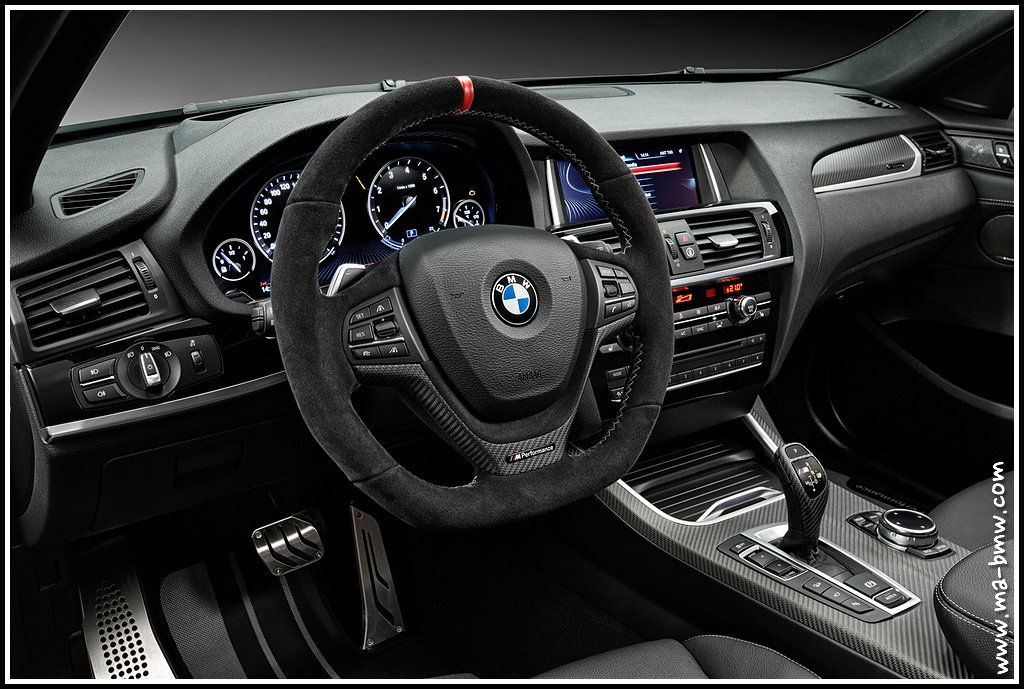 nouveaux quipements bmw performance pour les x4 et x3 blog bmw forum bmw. Black Bedroom Furniture Sets. Home Design Ideas