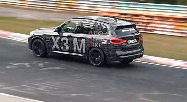 BMW-X3M-Nurburgring