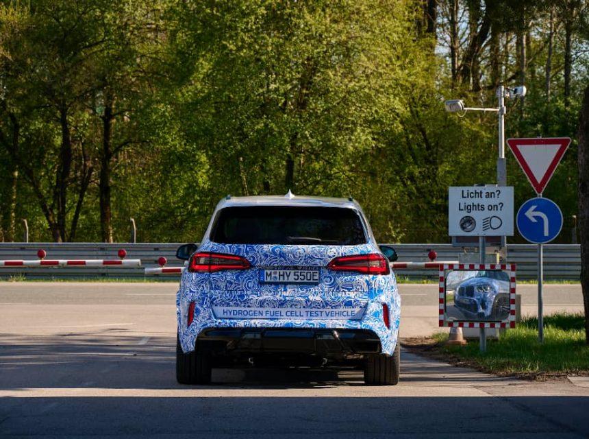 BMW hydrogène 2021 2022