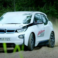 Drifter en BMW i3 ? C'est possible !