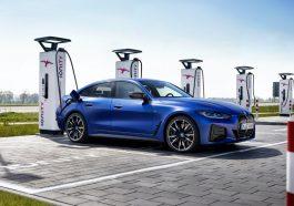 BMW i4 M50 electrique