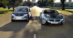 BMW i8 BMW i3