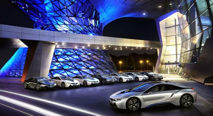 BMW i8 munich
