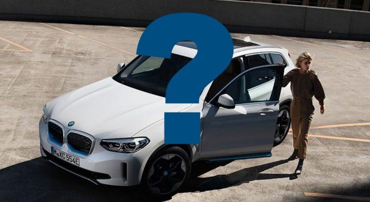 BMW iX3 existe