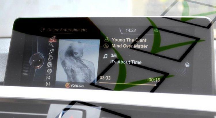 BMW idrive musique sondage