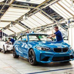 Retard de production dans les usines BMW
