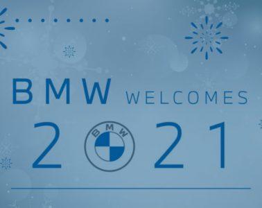 Bonne année 2021 BMW