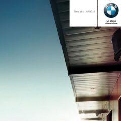 Catalogues et Tarifs BMW 12/2016