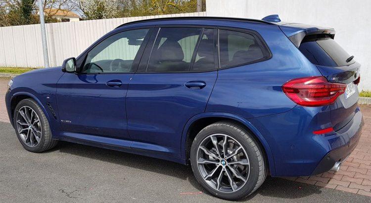Essai BMW X3 G01 2018