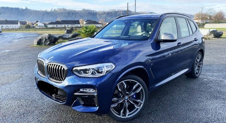 Essai BMW X4 G01 M40i 2019