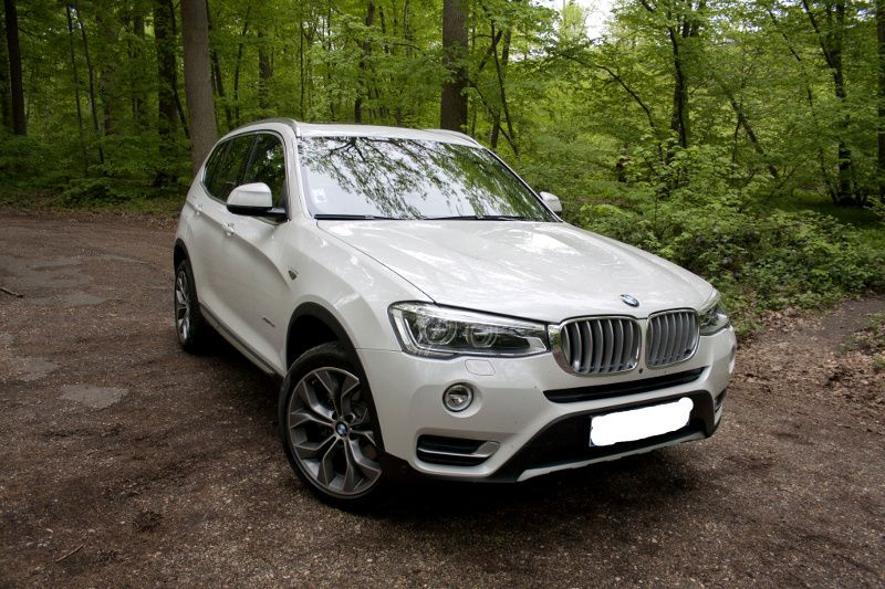 Essai Test Review BMW X3 LCI 20d 2015