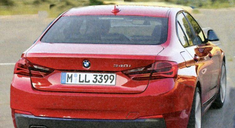 Future BMW Série 3 340i 2018