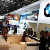 Mondial de l'Auto 2014 le stand BMW