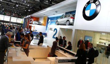 Stand BMW Mondial Auto 2014