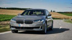 Nouvelle BMW 520E hybride rechargeable 2021