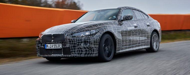 Nouvelle BMW i4 electrique 2021