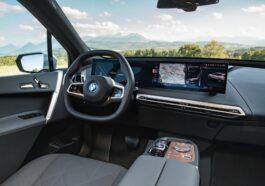 Nouvelle BMW iX - Mineral White-intérieur