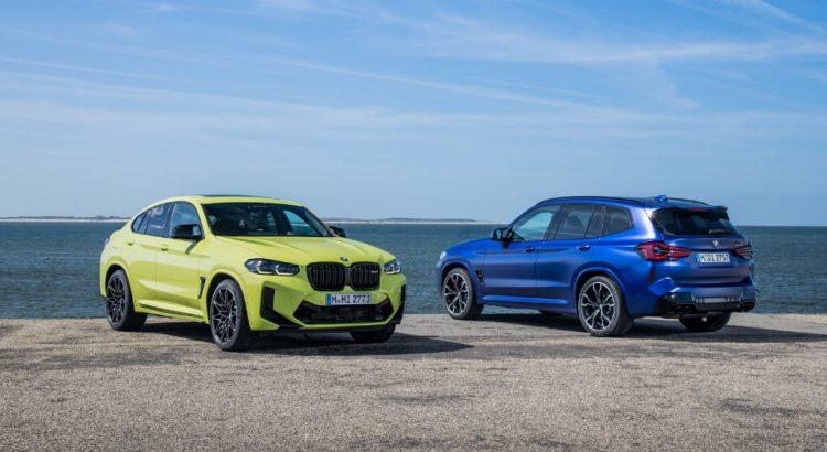 Nouvelles BMW X3M et X4M Facelift 2021