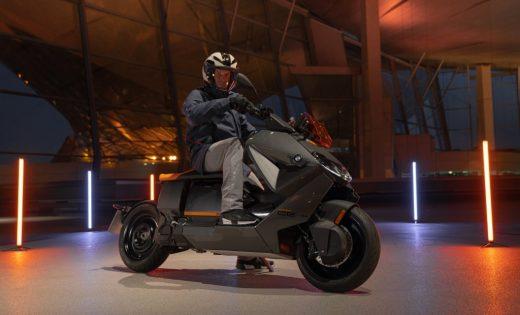 Scooter CE 04 electrique BMW-2021