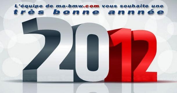 Bonne année 2012 sur ma-bmw.com